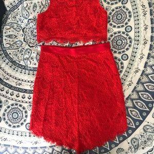 Show Me Your MuMu Dresses - Matching Lace Set